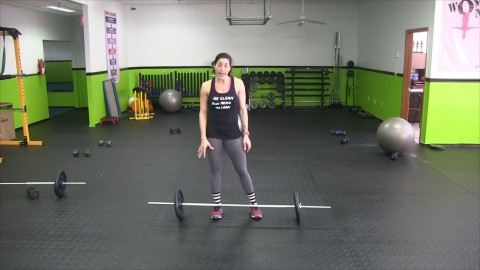 [10-07-14] Deadlifts with Lorraine