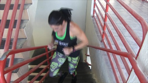 [10-27-14] Stairs Workout