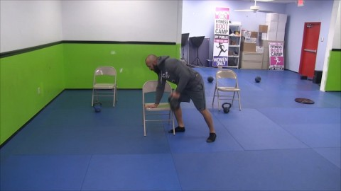 Bent over Kettle Bell Rows
