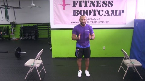 Chair and Rope Workout