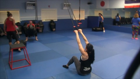 Resistance Bands Back Row