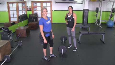 Stiff Legged Dead Lifts