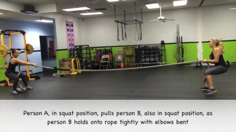 Partner Rope Pull