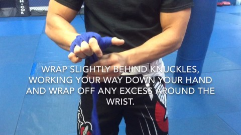Learn to wrap your hands