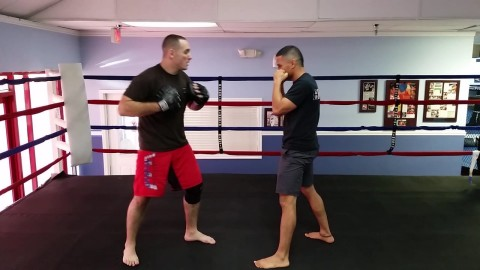 Slipping and Bobbing and Weaving for Kickboxing