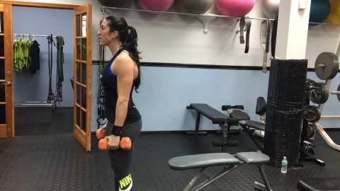 Side shoulder raises