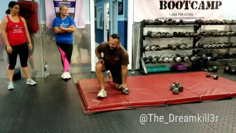 WOFB COACH EDGARD UPPER BODY WORKOUT!