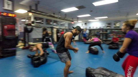 Friday Kickboxing Class with Coach Edgard